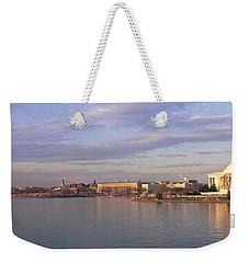 Usa, Washington Dc, Tidal Basin, Spring Weekender Tote Bag by Panoramic Images