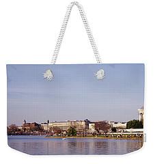 Usa, Washington Dc, Washington Monument Weekender Tote Bag by Panoramic Images
