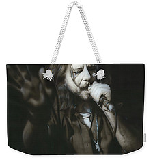 Eddie Vedder - ' Vedder IIi ' Weekender Tote Bag by Christian Chapman Art
