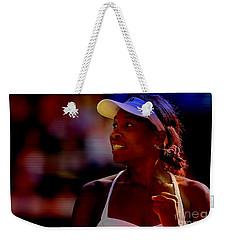 Venus Williams Weekender Tote Bag by Marvin Blaine