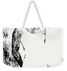 Venus Williams Paint Splatter 2c Weekender Tote Bag by Brian Reaves