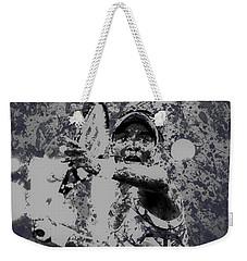 Venus Williams Paint Splatter 2e Weekender Tote Bag by Brian Reaves