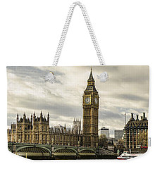 View From Southbank Weekender Tote Bag by Heather Applegate