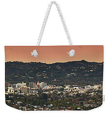 View Of Buildings In City, Beverly Weekender Tote Bag by Panoramic Images