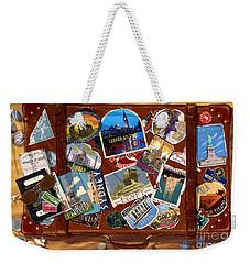 Vintage Travel Case Weekender Tote Bag by Garry Walton