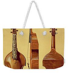 Viola Damore, 18th Century Weekender Tote Bag by Alfred James Hipkins