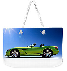 Viper Roadster Weekender Tote Bag by Douglas Pittman