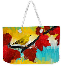 Vividness Weekender Tote Bag by Lourry Legarde