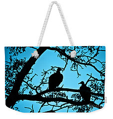 Vultures Weekender Tote Bag by Delphimages Photo Creations