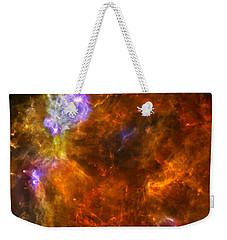 Weekender Tote Bag featuring the photograph W3 Nebula by Science Source