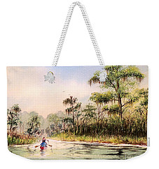 Wacissa River  Weekender Tote Bag by Bill Holkham