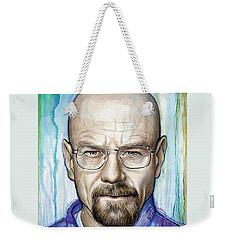 Walter White - Breaking Bad Weekender Tote Bag by Olga Shvartsur