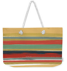 Warmth It Gives Weekender Tote Bag by Lourry Legarde