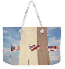 Washington Monument Washington Dc Usa Weekender Tote Bag by Panoramic Images
