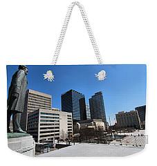 Watching Over Nashville Weekender Tote Bag by Dan Sproul
