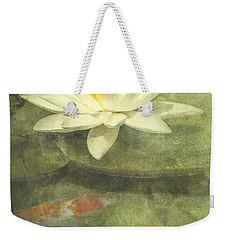 Water Lily Weekender Tote Bag by Scott Norris