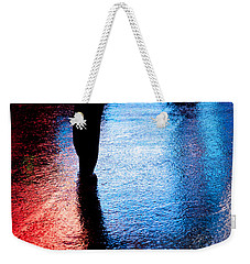 Times Square Watercolours Weekender Tote Bag by Dave Bowman