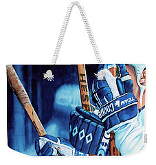 Weapons Of Choice Weekender Tote Bag by Hanne Lore Koehler