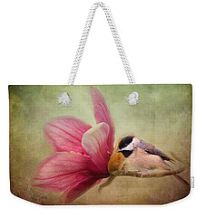 Welcome Spring Weekender Tote Bag by Jai Johnson
