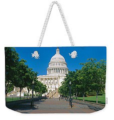 West View Of Us Capitol Building Weekender Tote Bag by Panoramic Images