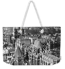 Westminster Abbey In London Weekender Tote Bag by Underwood Archives