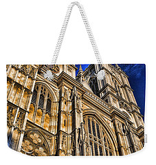 Westminster Abbey West Front Weekender Tote Bag by Stephen Stookey