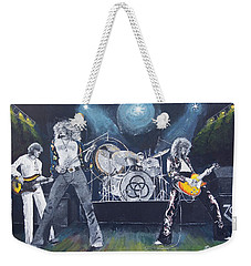 When Giants Rocked The Earth Weekender Tote Bag by Bruce Schmalfuss