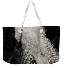 Whispy And Delicate Weekender Tote Bag by Deborah Benoit