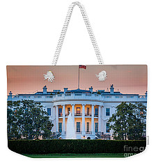 White House Weekender Tote Bag by Inge Johnsson