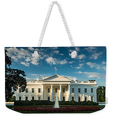 White House Sunrise Weekender Tote Bag by Steve Gadomski