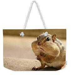 Who Me Weekender Tote Bag by Lori Deiter