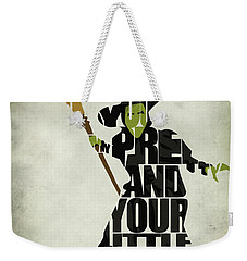 Wicked Witch Of The West Weekender Tote Bag by Ayse Deniz