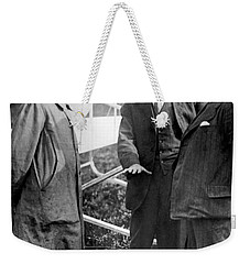 Weekender Tote Bag featuring the photograph Wilbur Wright, 1908 by Science Source
