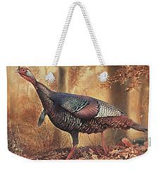 Wild Turkey Weekender Tote Bag by Hans Droog