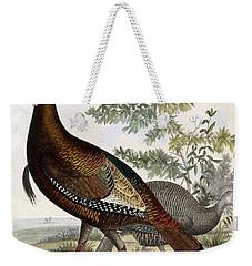 Wild Turkey Weekender Tote Bag by Titian Ramsey Peale