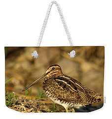 Wilson's Snipe Weekender Tote Bag by James Peterson