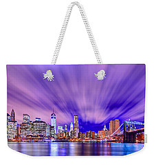 Winds Of Lights Weekender Tote Bag by Midori Chan