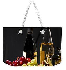 Wine And Grapes Weekender Tote Bag by Elena Elisseeva