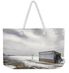 Winter At The Cabana Weekender Tote Bag by Scott Norris