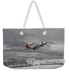 Winter Freedom Weekender Tote Bag by Pat Speirs