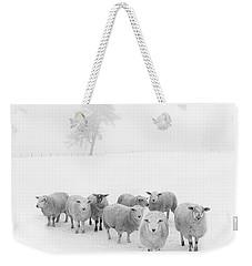 Winter Woollies Weekender Tote Bag by Janet Burdon