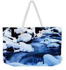 Winter Yosemite National Park Ca Weekender Tote Bag by Panoramic Images