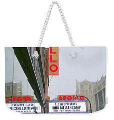 Wintry Day At The Apollo Weekender Tote Bag by Ed Weidman