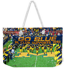 Wolverines Rebirth Weekender Tote Bag by John Farr