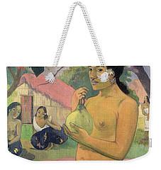 Woman With Mango Weekender Tote Bag by Paul Gauguin