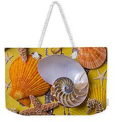 Wonderful Sea Life Weekender Tote Bag by Garry Gay