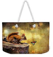 Woodland Wonder Weekender Tote Bag by Lois Bryan