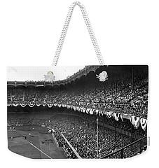 World Series In New York Weekender Tote Bag by Underwood Archives