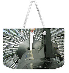 Weekender Tote Bag featuring the photograph X-37b Orbital Test Vehicle by Science Source