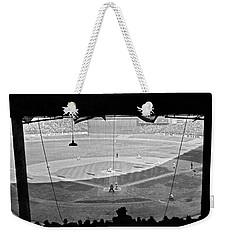 Yankee Stadium Grandstand View Weekender Tote Bag by Underwood Archives